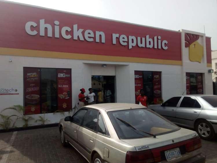 chicken republic tanke ilorin during valentine's day